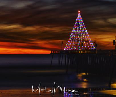 Pismo Pier Christmas Tree