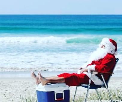 Santa's at the Coast!