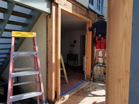 Garden Door Construction