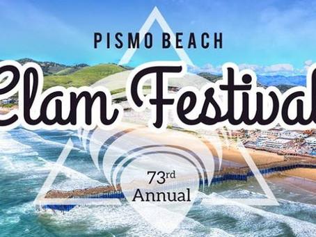 Pismo Beach 73rd Annual CLAM FESTIVAL!