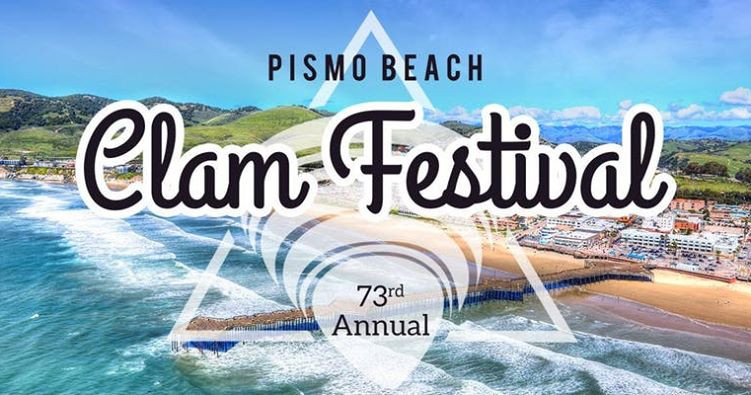 October 18, 19 and 20, 2019 is the 73rd annual Clam festival in Pismo Beach, CA