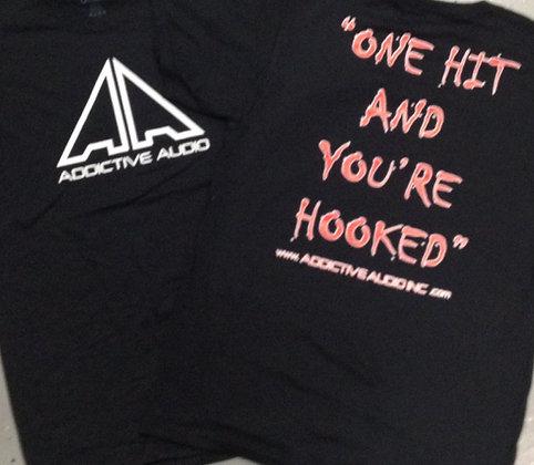 Black HOOKED T-shirt