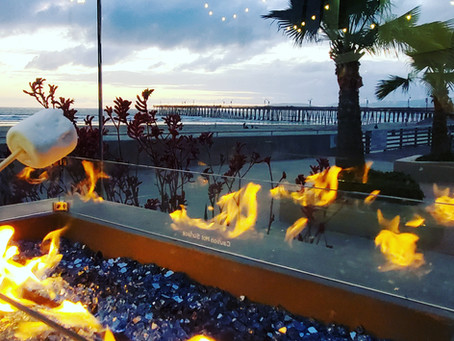 Smores by the Pier