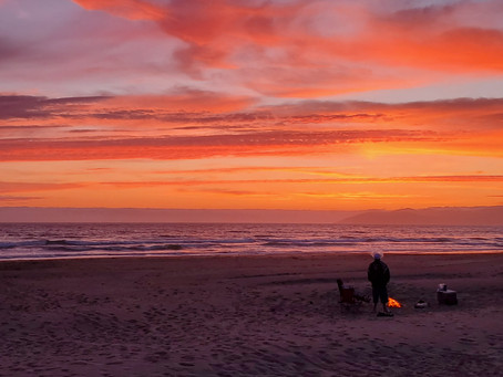 Multi-Color Sunset