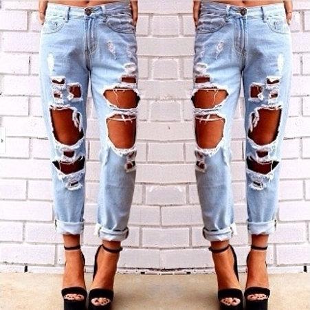 Slouchy Boyfriend Jeans