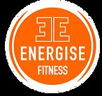 Energise Fitness Logo - on White w edge.