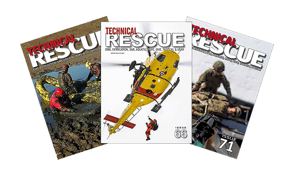 TECHNICAL RESCUE  1 Year/4-issue DIGITAL subscription