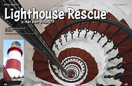 Lighthouse Rescue Coastguard