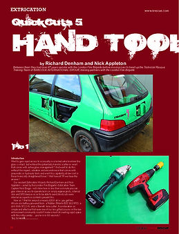 extrication hand tools - mini cutters