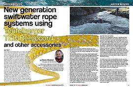 Swiftwater Rescue Throwline