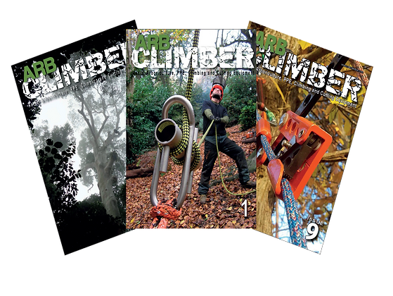 ARB CLIMBER 1 Year/4-issues PRINT subscription