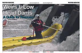 Low Head Dams Water Rescue