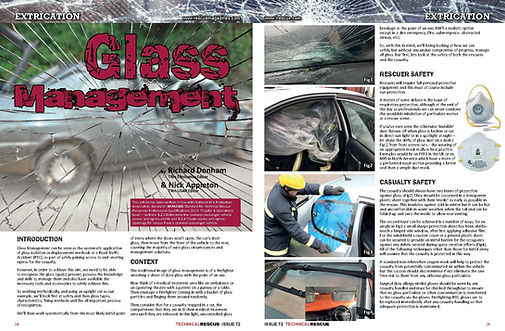 glass management - windscreen removal