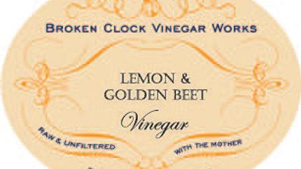Lemon & Golden Beet Vinegar