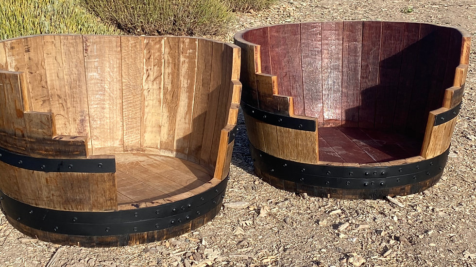 Wine Barrel Pet Beds