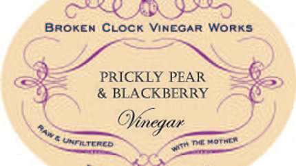 Prickly Pear & Blackberry Vinegar