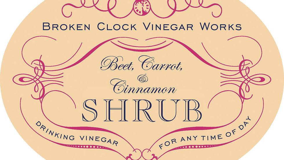 Beet, Carrot & Cinnamon Shrub