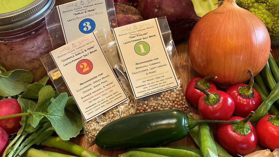 """""""Garlic & Herb"""" Lacto-Fermentation Brine Spice"""