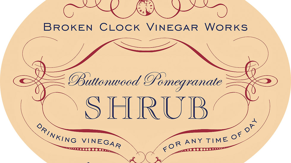 Buttonwood Pomegranate Shrub