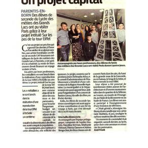 Un projet capital
