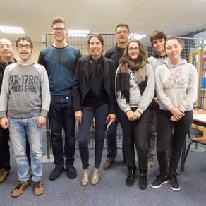 Accueil des élèves allemands