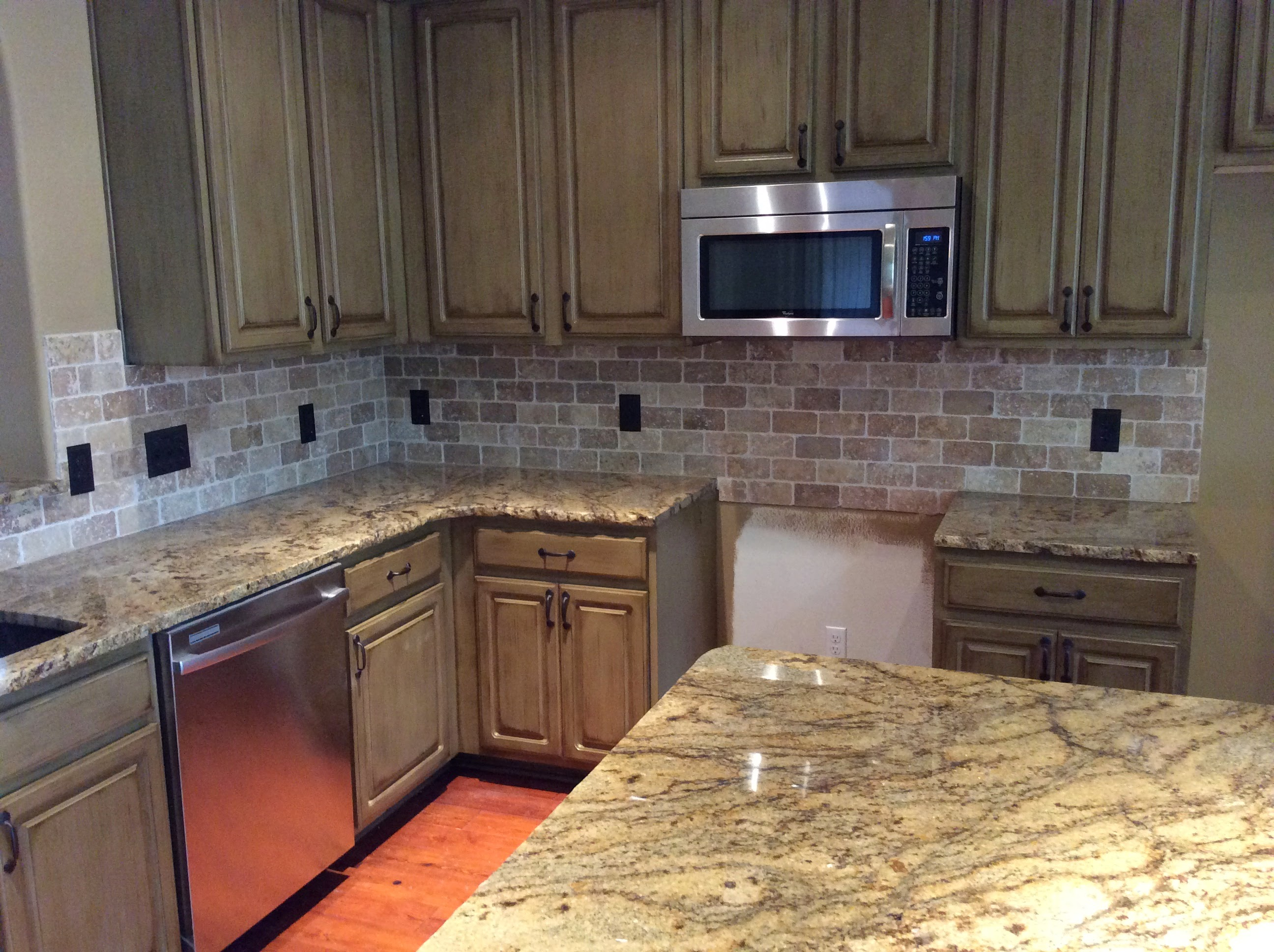 Kitchen Counter and Backsplash