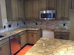Kitchen Counter and Backsplash