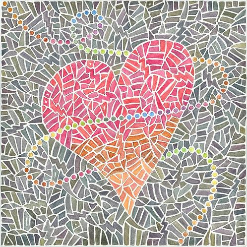 Amor Gris Print