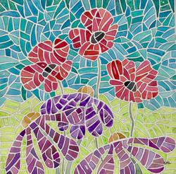 Poppies + Purple