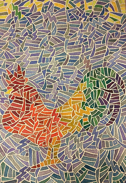 Rainbow Rooster