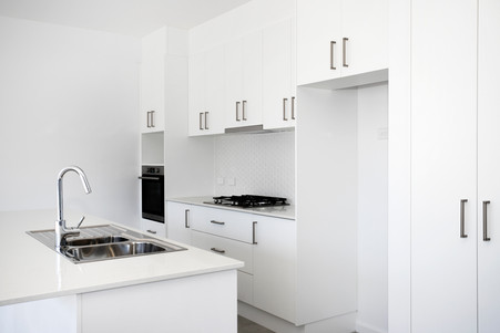 Train Street Central Broulee, residential units, luxury apartments, kitchen