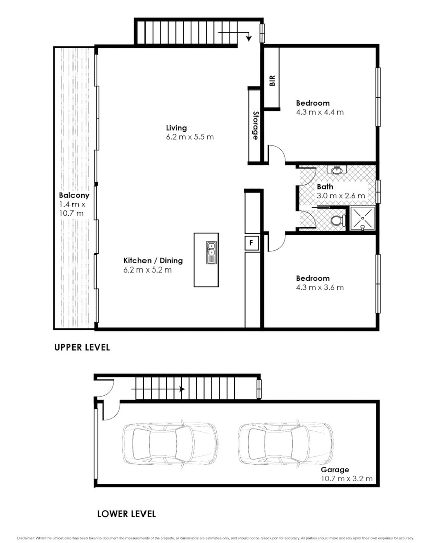 Residential unit floor plans for Insta 2