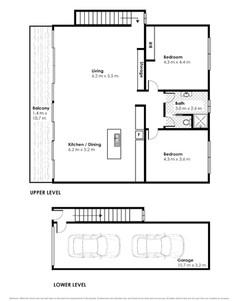 Residential unit floor plans for Insta 2