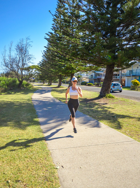 Enjoy a run on your lunch break