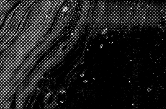Black and White Abstract Texture