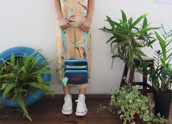 Bolsa Recorte Azul