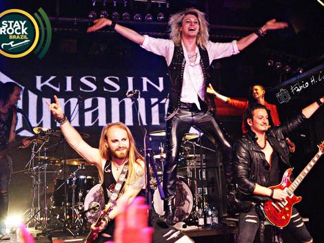 Show da banda aleman de hard rock KISSIN' DYNAMITE na cidade de Viena- Austria 2019
