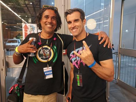 😍Em nome da Rádio Stay Rock Brazil, gostariamos de agradecer a todos a banda Steel Panther e também