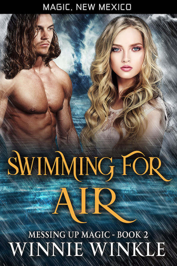 Swimming For Air by Winnie Winkle