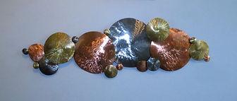 Carol A - Celestial Orbs - copper, brass