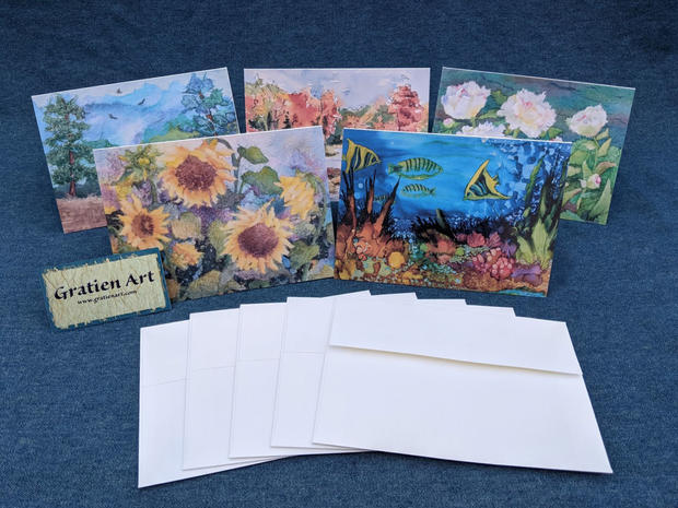 Package of 5 Note Cards