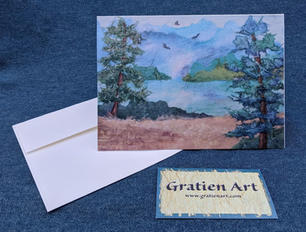 Peaceful Morning Note Card