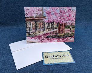 Celebrating Spring Note Card