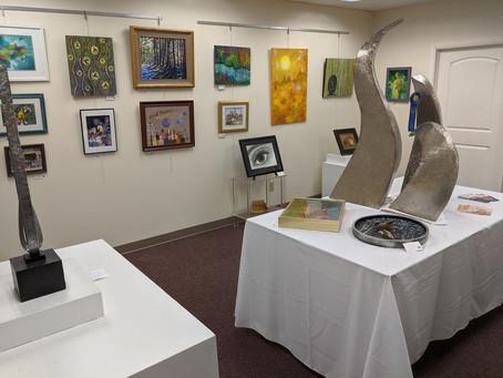 OAG Annual Juried Art Show at Eye Studio Arts, East Syracuse - October 2020
