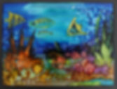 Underwater fish and coral ink painting on tilem.jpg