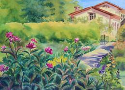 Morning Garden at Lorenzo Historic Site