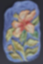 Chinese Hibiscus Relief tile.jpg