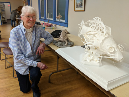 Paper Sculpture with Louise Woodard