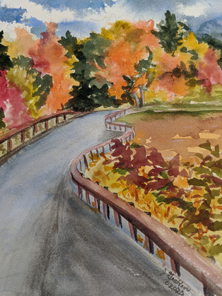 Autumn in Racquette Lake