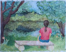 Secret Pond Reflection